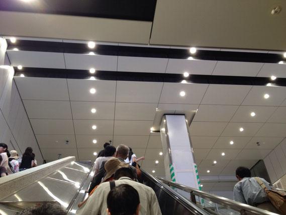 東京駅 ダウンライト