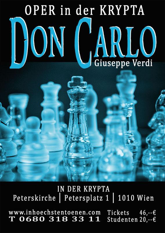 DON CARLO - Giuseppe Verdi  in der KRYPTA
