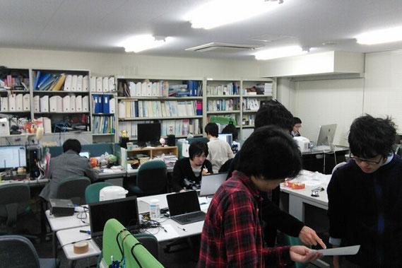 濱上先生の研究室