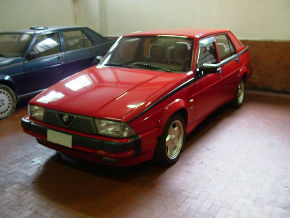 Alfa 75 Milano - il primo incontro