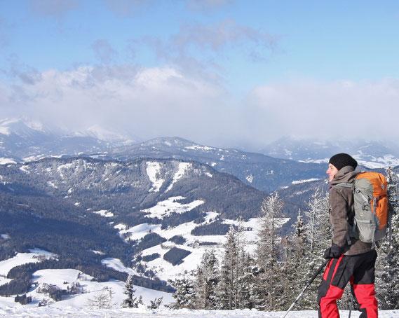 Skitouren (c) Skigebiet Grebenzen