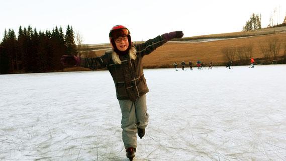 Eislaufen Pia_© TVB Naturpark Zirbitzkogel-Grebenzen