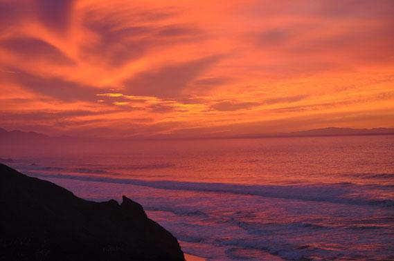 Sonnenuntergang 21 Dez 12