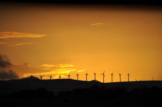 Sonnenuntergang an der Costa Calma