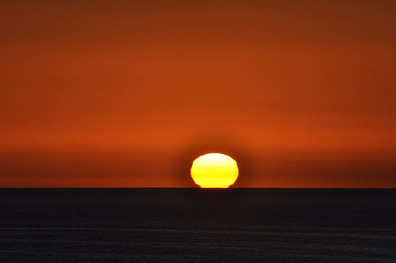 Sonnenaufgang an der Costa Calma