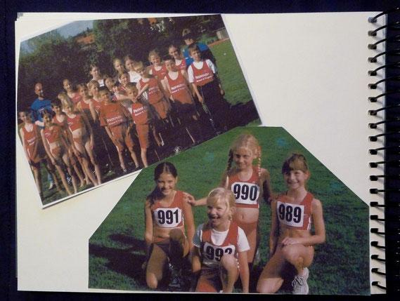 noch im TVE Trikot 2003 (Alisas Fotos aus dem Erinnerungsbuch )