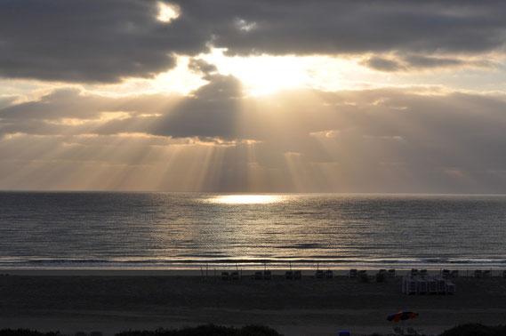Sonnenaufgang an der Costa Calma am Heilig Abend