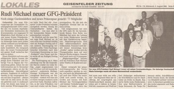 (Quelle: GZ 02. August 2000)