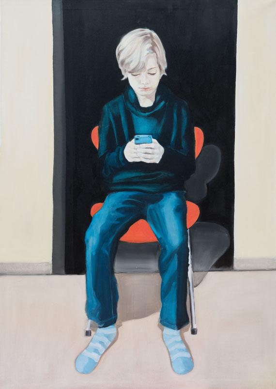 Tristan, Oil on Canvas, 140 x 100 cm, 2016