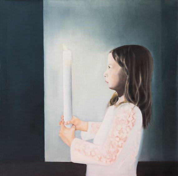 Nora, Oil on Canvas, 100 x 100 cm, 2016