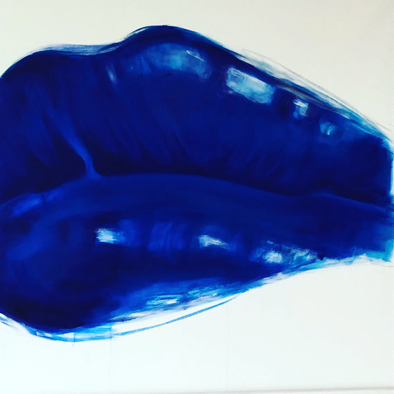 Lipgloss, Oil on Canvas, 100 x 100cm, 2019