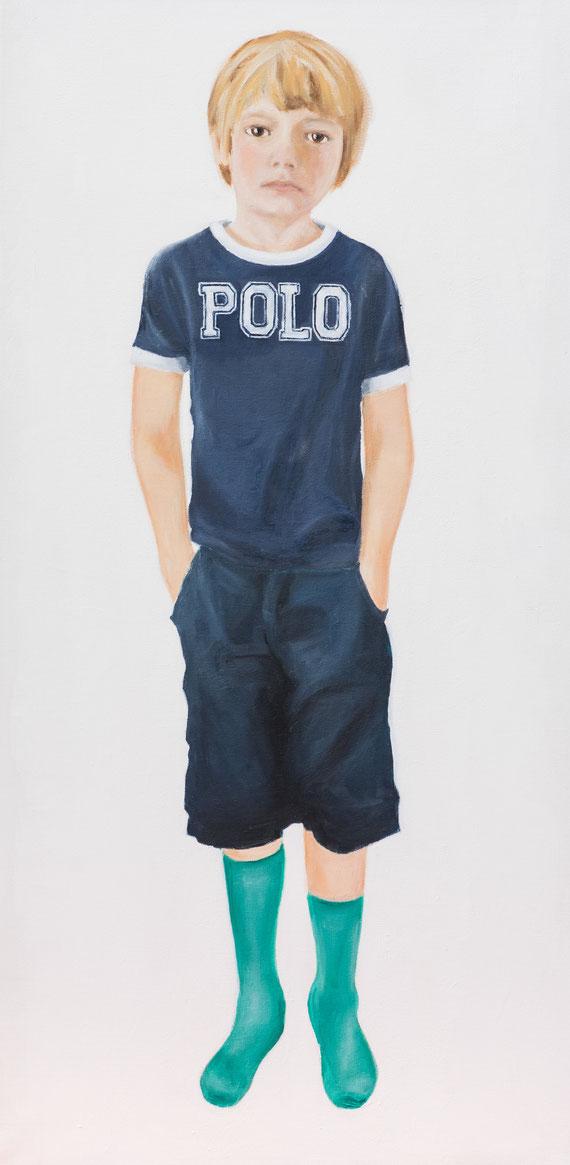 Tristan, Oil on canvas, 2013