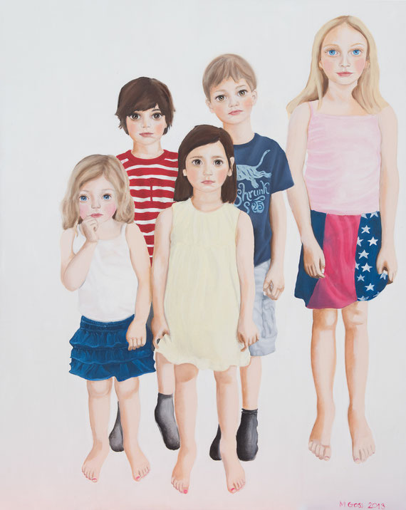 Children, Oil on Canvas, 2013
