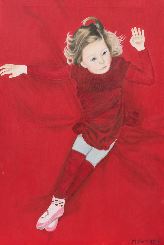 Nora, Oil on Canvas, 120 x 100 cm, 2015
