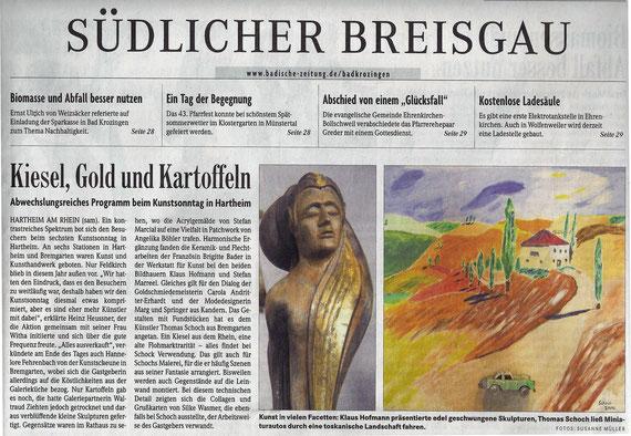 Badische Zeitung 25.09.2012