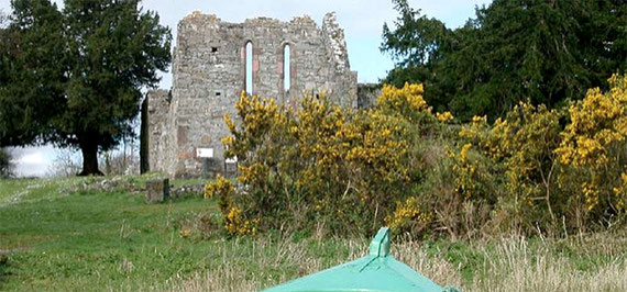 Innisfallen Abbey, Lough Leane, Killarney, Co. Kerry