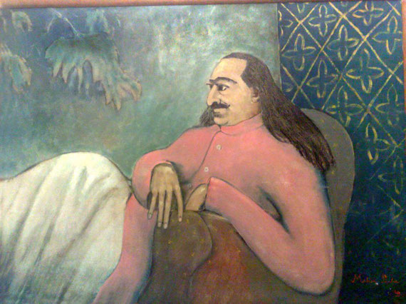 Meher Baba at Avatar's Abode - Courtesy of the Paul & Ann Smith Collection