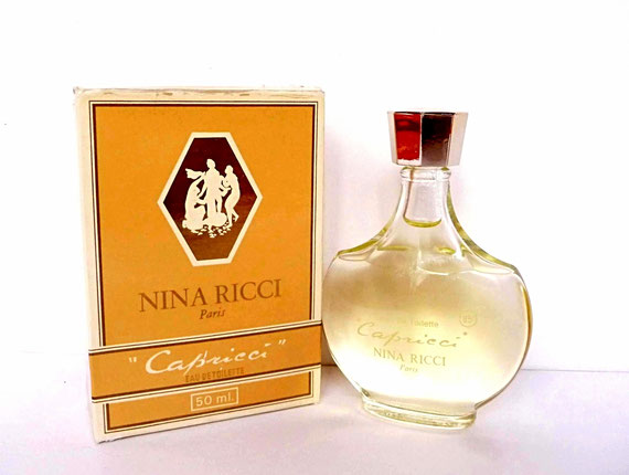 CAPRICCI - FLACON AMPHORE SERIGRAPHIE BLANCHE - EAU DE TOILETTE 50 ML - CREATION LALIQUE