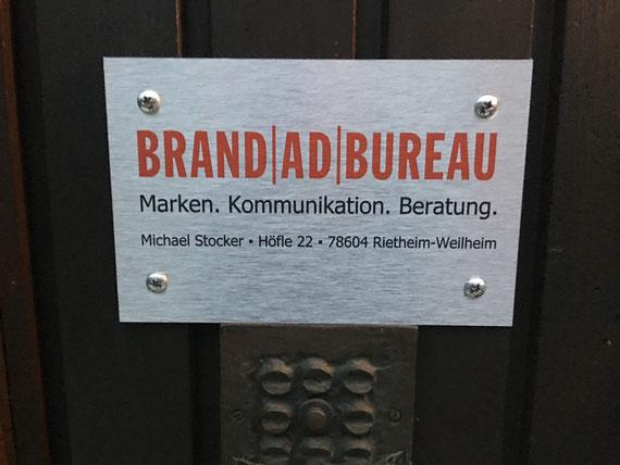 Das Brand Ad Bureau - im Gemeinschaftsbureau mit dem D-Signbureau
