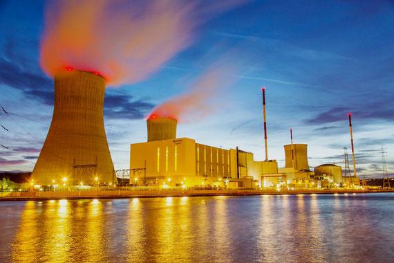 Atomkraftværket i Tihange, Belgien