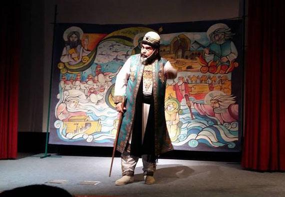 Ein traditioneller iranischer Erzähler