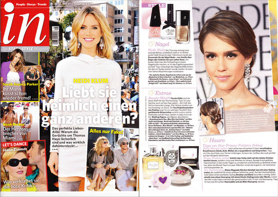 IN Stars & Style Magazin APRIL2012 - Peeling & BathButter DUNE ROSE COLLECTION