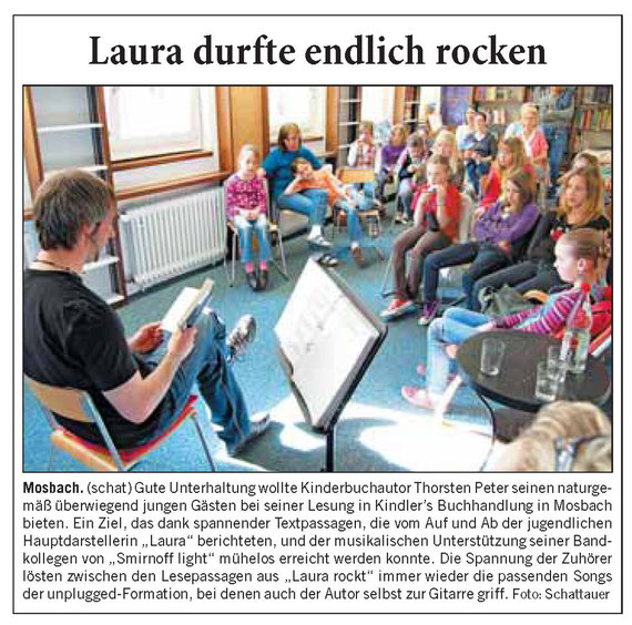 Musikalische Lesung in Kindler´s Buchhandlung (23.04.2010)