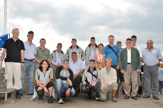Die reiselustigen Ausflügler der SG Birmenstorf