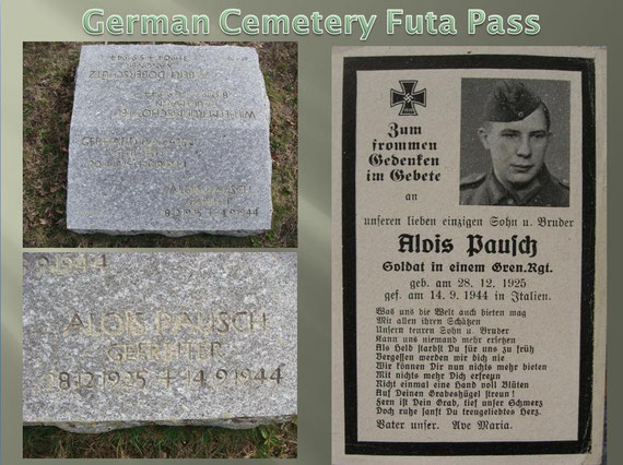 One of the German Soldiers who found their final resting place