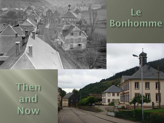 Le Bonhomme Then and Now