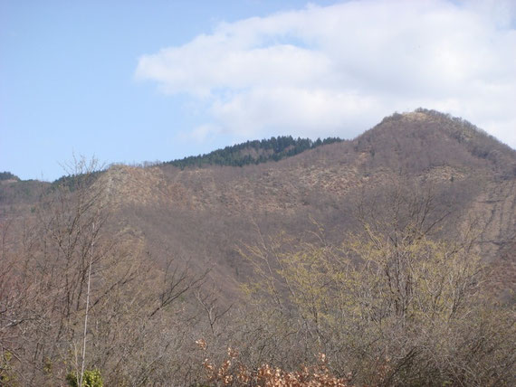 From left: Wester Ridge, Knob 3 and Monte Altuzzo (926 meters)