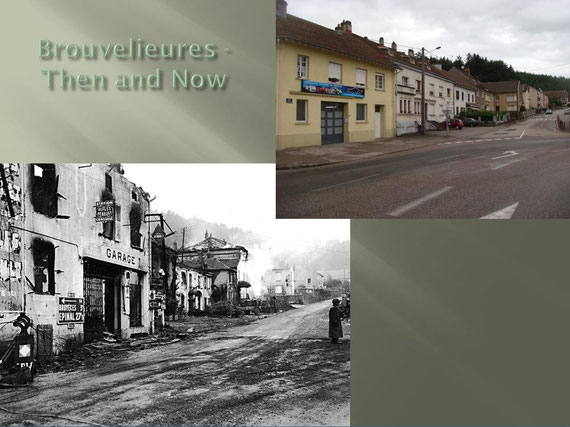 The crossroad Then and Now