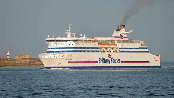 M/V Cap Finistère in Portsmouth.