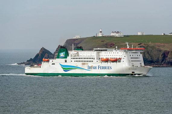 Isle of Inishmore (2) arriving in Pembroke Dock.