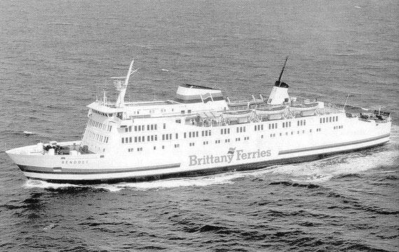 Benodet pictured at sea.