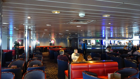 The Colombus Bar on board King Seaways in 2016.