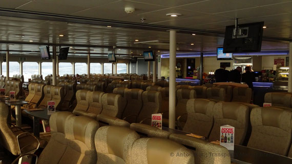 The Horizon Lounge, where is located the Ocean Plus seats.