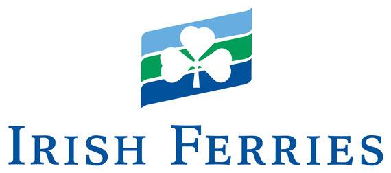 Irish Ferries' logo.