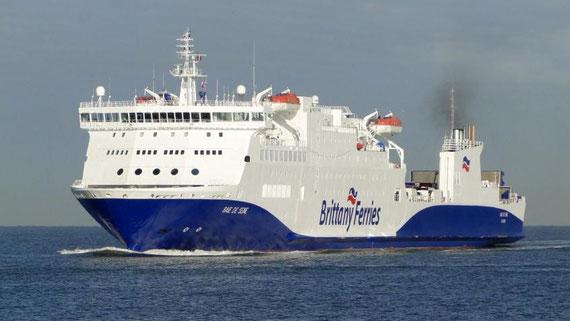 M/V Baie de Seine en approche du Havre.
