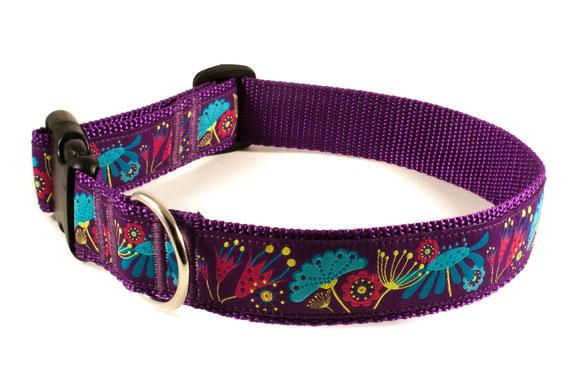 Hundehalsband lila