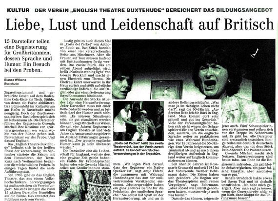 Hamburger Abendblatt, 20.04.2009