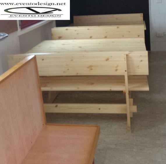 Panche E Tavoli Per Sagre.Panca Smontabile Per Sagre Sgabello Pieghevole Progetto