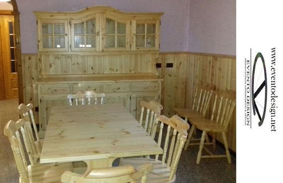 mobili country, mobili rustici, mobili tirolesi, mobili in legno massello in stile classico, mobili in stile country