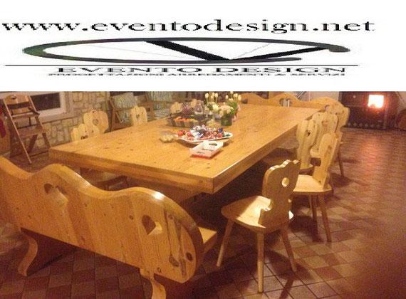 sedie tirolesi, sedia tirolese, sedie per tavernetta, sedie in stile bavarese, sedie in stile country, sedia country