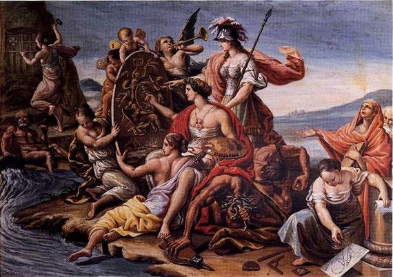 Alegoría de Las Bellas Artes