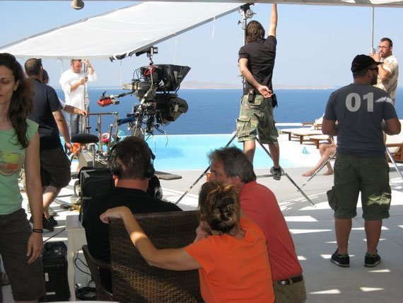 June 2011 Info-mercial shoot, Mykonos