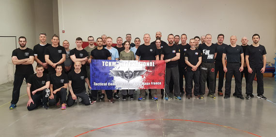 STAGE INSTRUCTEURS KRAV-MAGA CASTRES AVRIL 2019