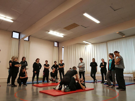 STAGE  SELF DEFENSE FEMININ TCKM81 JANVIER 2018