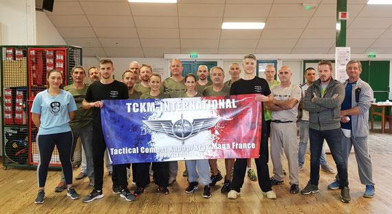 stage formation des instructeurs au club boot camp krav 40 octobre 2020
