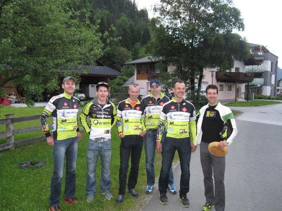 Alban Lakata & Robert Mennen (Topeak-Ergon-Team)
